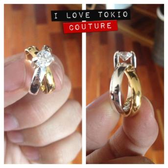 Argolla de Compromiso i Love Tokio Couture