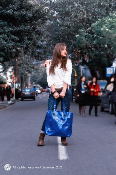 i Love Tokio Couture Tote 3