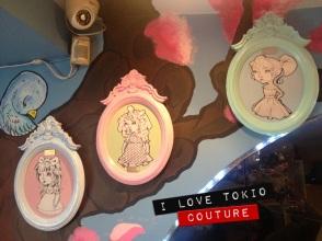 Cuadros Vintage i Love Tokio Couture