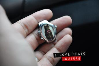 Anillo Vintage i Love Tokio Couture