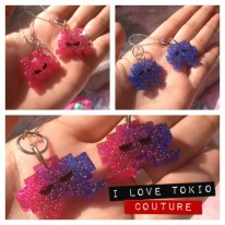 Aretes Invaders i Love Tokio Couture