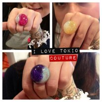 Anillo Planet i Love Tokio Couture
