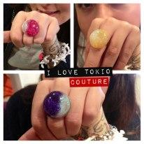 Anillo Planet i Love Tokio Couture