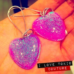 Aretes Galaxy i Love Tokio Couture