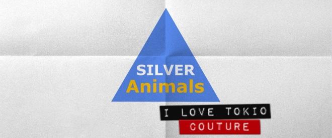 Silver Animals i Love Tokio Couture