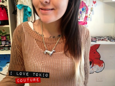Collar HotDog i Love Tokio Couture